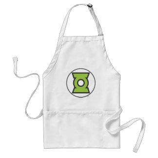 Green Lantern Logo 11 Standard Apron