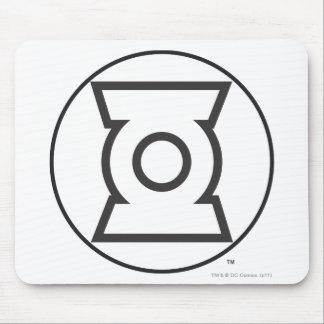 Green Lantern Logo 12 Mousepad
