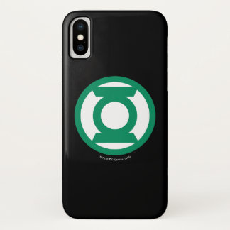 Green Lantern Logo 13 iPhone X Case