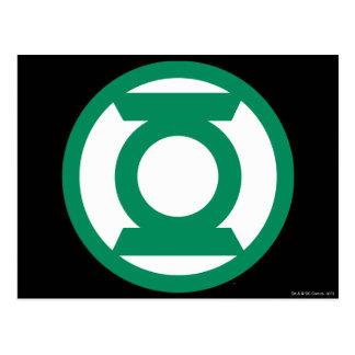 Green Lantern Logo 13 Postcard