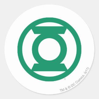 Green Lantern Logo 13 Round Sticker