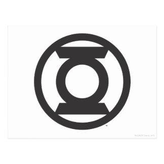 Green Lantern Logo 14 Postcard