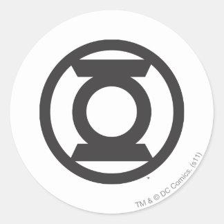 Green Lantern Logo 14 Round Sticker