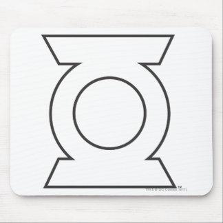 Green Lantern Logo 16 Mouse Pad
