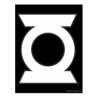 Green Lantern Logo 16 Postcard