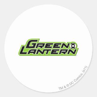 Green Lantern Logo 2 Round Sticker
