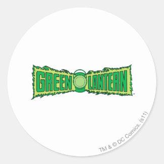 Green Lantern Logo 4 Round Sticker