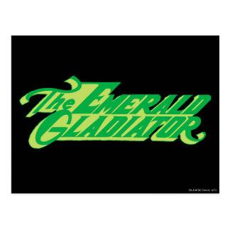 Green Lantern Logo 8 Postcard