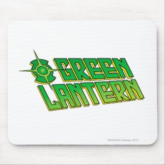 Green Lantern Logo - Slanted Mousepad