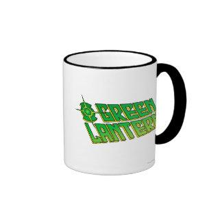 Green Lantern Logo - Slanted Coffee Mug