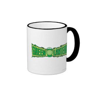 Green Lantern Logo with Lantern Ringer Mug
