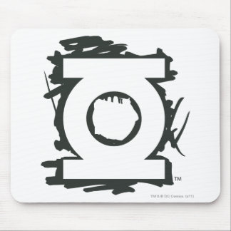 Green Lantern Marker Symbol Mouse Pad
