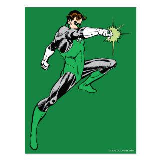 Green Lantern Pointing Ring Postcard