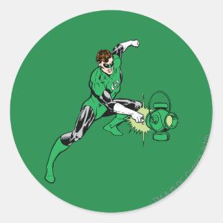 Green Lantern Power Round Sticker