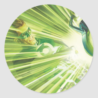 Green Lantern Power Round Sticker