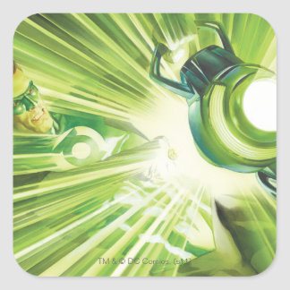 Green Lantern Power Square Sticker