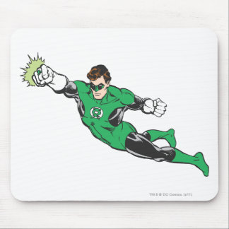 Green Lantern Punches Mouse Pad