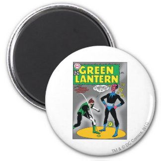 Green Lantern Removes Ring Magnet