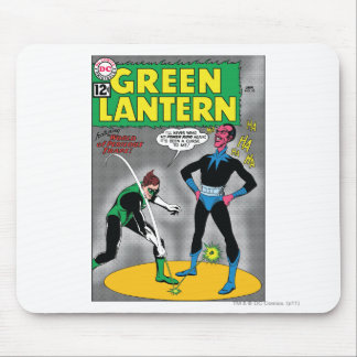 Green Lantern Removes Ring Mouse Pad