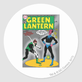Green Lantern Removes Ring Round Stickers