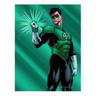 Green Lantern Ring Postcards