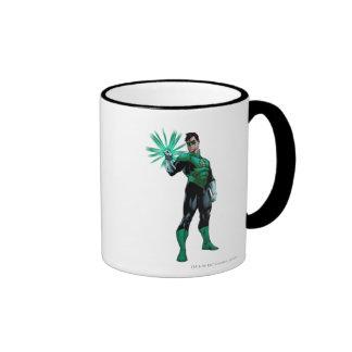 Green Lantern & Ring Ringer Mug