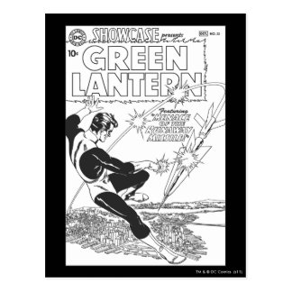 Green Lantern - Runaway Missile, Black and White Post Cards