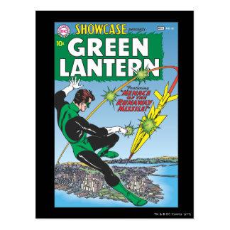 Green Lantern - Runaway Missile Postcard