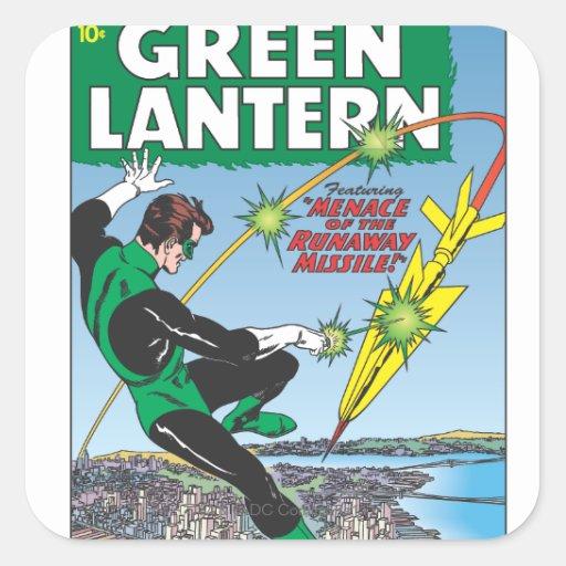 Green Lantern - Runaway Missile Sticker