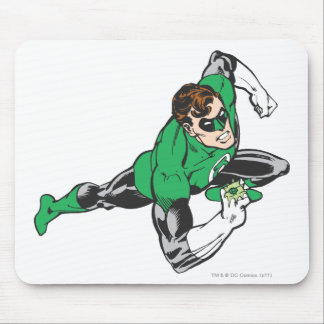 Green Lantern Runs Mousepads