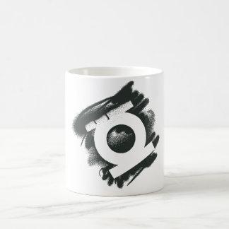 Green Lantern Spray Symbol Classic White Coffee Mug