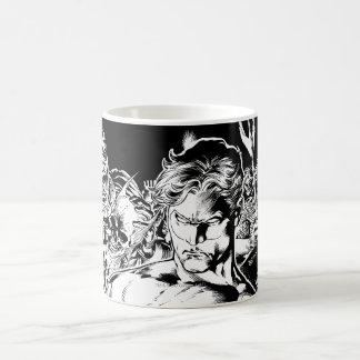 Green Lantern Surrounded Classic White Coffee Mug