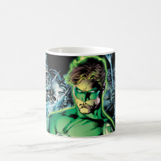 Green Lantern Surrounded - Color Coffee Mug