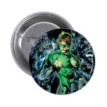 Green Lantern Surrounded - Colour 2 Inch Round Button
