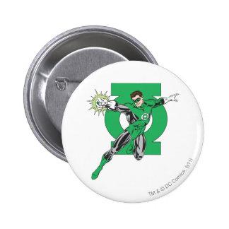 Green Lantern & Symbol 2 Inch Round Button