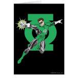 Green Lantern & Symbol Greeting Card
