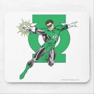 Green Lantern Symbol Mousepads