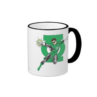 Green Lantern & Symbol Ringer Mug