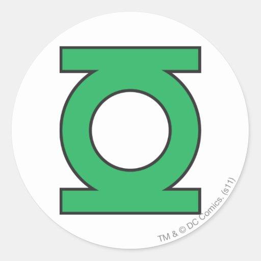 Green Lantern Symbol Stickers