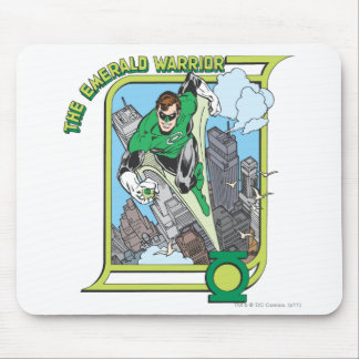 Green Lantern - The Emerald Warrior Mouse Pad