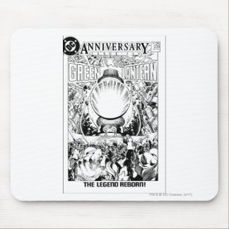 Green Lantern - The Legend Reborn, Black and White Mouse Pad