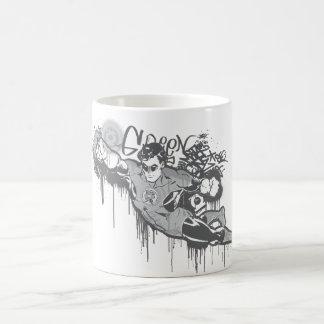 Green Lantern - Twisted Innocence BW Coffee Mug