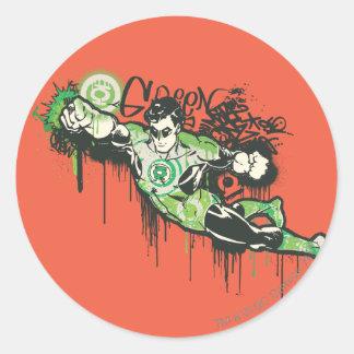 Green Lantern - Twisted Innocence Poster Round Sticker