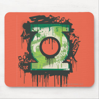 Green Lantern - Twisted Innocence Symbol Mouse Pad