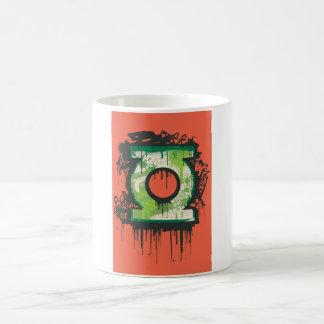 Green Lantern - Twisted Innocence Symbol Basic White Mug