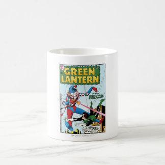 Green Lantern vs Clown Basic White Mug