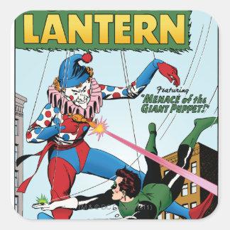 Green Lantern vs Clown Stickers