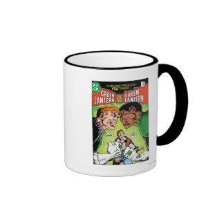 Green Lantern vs Green Lantern Ringer Coffee Mug