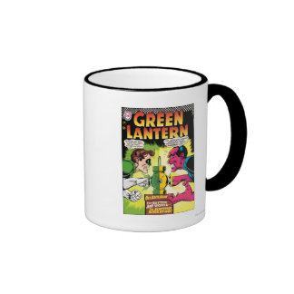 Green Lantern vs Sinestro Coffee Mugs