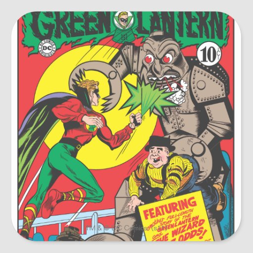 Green Lantern vs The Wizard of Odds Stickers